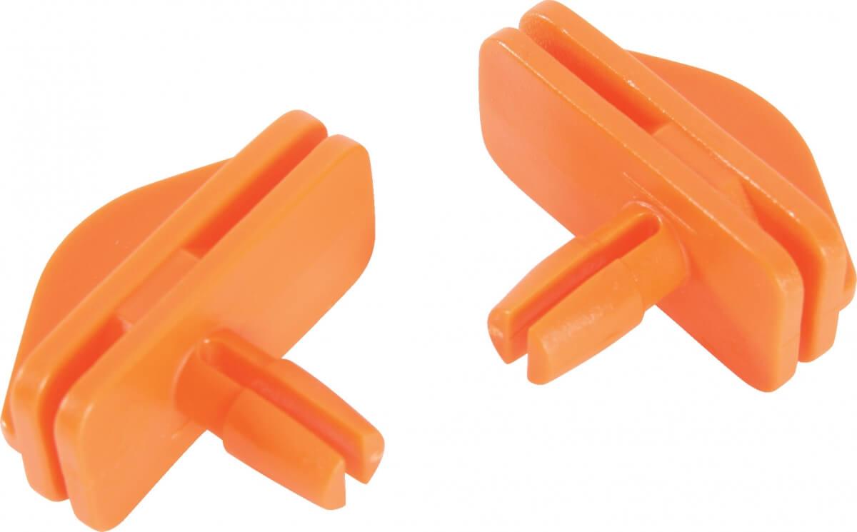 2 crochets Petits Modèles oranges pour étage cage Indoor_0