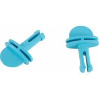 2 crochets Petits Modèles bleus pour étage cage Indoor (1)