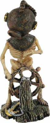Décor aquarium squelette scaphandre - modèle 2