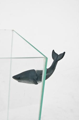 D cor magn tique requin d cor fantaisie for Requin decoration