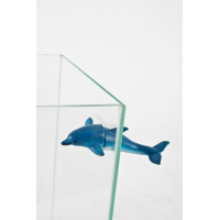 Delfin magnetisches Dekor