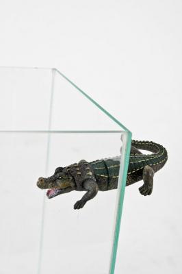 Décor magnétique crocodile