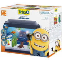 Aquarium Tetra StarterLine Edition Minion tout équipé 30L