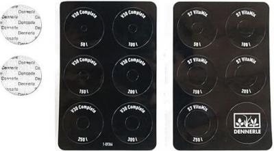 DENNERLE Kit 6 bagues de dosage V30/S7 + 6 membranes
