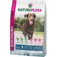 Eukanuba NaturePlus+ Adulte Maxi Sans Céréales au Saumon pour Chien Adulte de Grande Taille