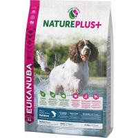 Eukanuba NaturePlus+ Adulte Medium Sans Céréales au Saumon pour Chien Adulte de Taille Moyenne Sensible