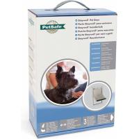 Chatière porte STAYWELL cadre aluminium pour chien et chat