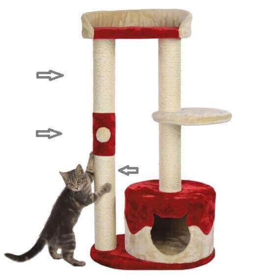 pi ces d tach es pour arbre chat trixie pilar arbre chat. Black Bedroom Furniture Sets. Home Design Ideas