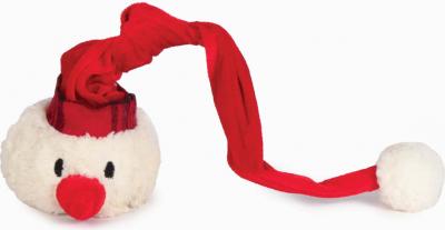 Balle pour chiens bonhomme de neige Noël