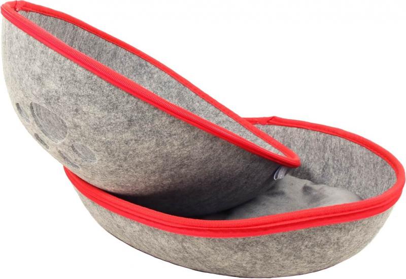 Katzenhöhle ZOLIA Bucky in grau