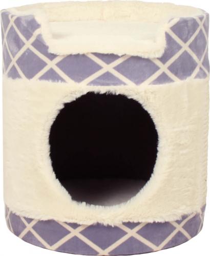 tour griffer zolia beny en peluche pour chat 33cm griffoir. Black Bedroom Furniture Sets. Home Design Ideas