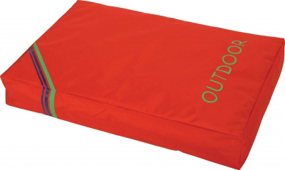 Coussin imperméable Outdoor corail