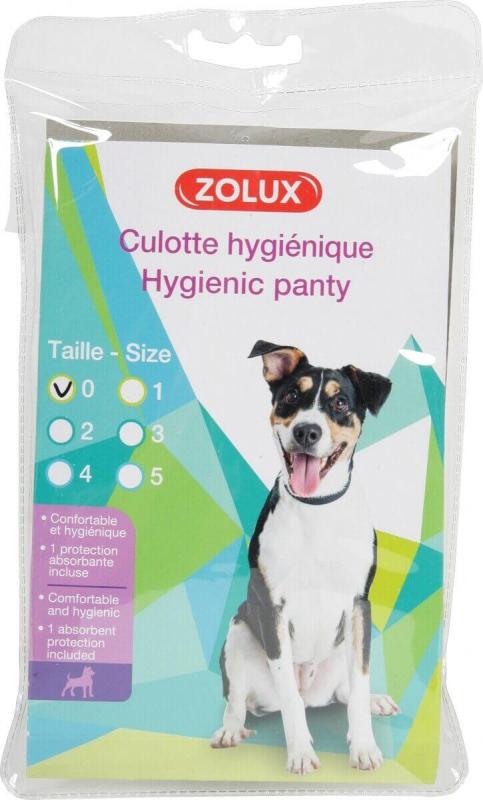 Culotte hygiénique pour chien - plusieurs tailles