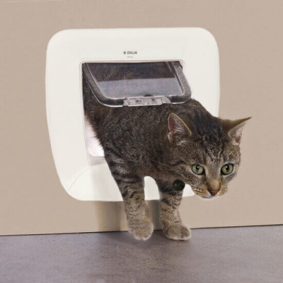 Homepass Chatière Magnétique ZOLIA pour chat