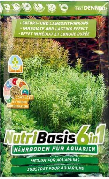 Dennerle NutriBasis 6 en 1 Substrat pour aquarium