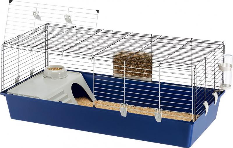 Cage Ferplast Rabbit 120 pour lapin et cochon d'inde