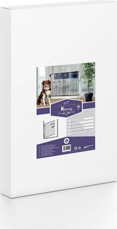 Barrière en métal KENNY XL- Panneaux adaptables - H105cm