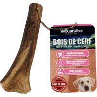 Bois de cerf à mâcher pour chien WOUANDISE