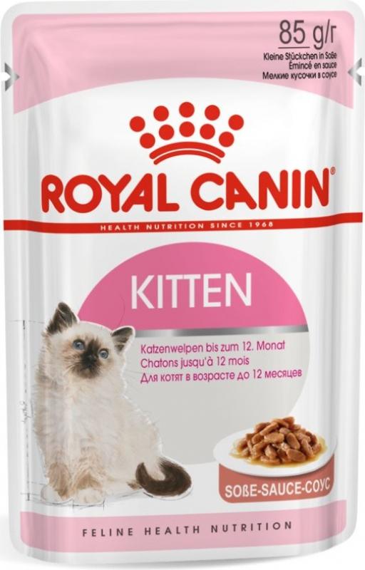 Royal Canin Instinctive Kitten Pâtée en sauce pour chaton