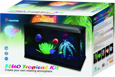 SuperFish Aquarium Fluo Tropical Kit