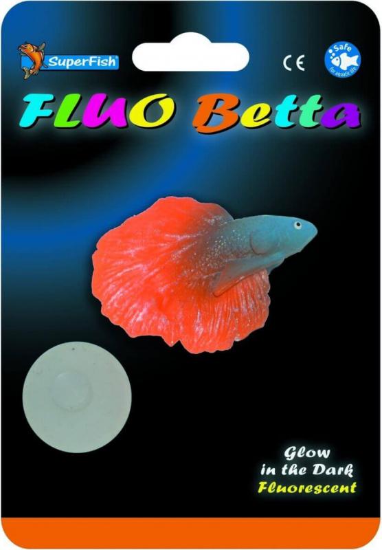 SuperFish FLUO Décoration - Fluo Betta 3 modèles