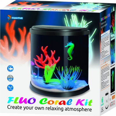 SuperFish Aquarium FLUO CORAL KIT