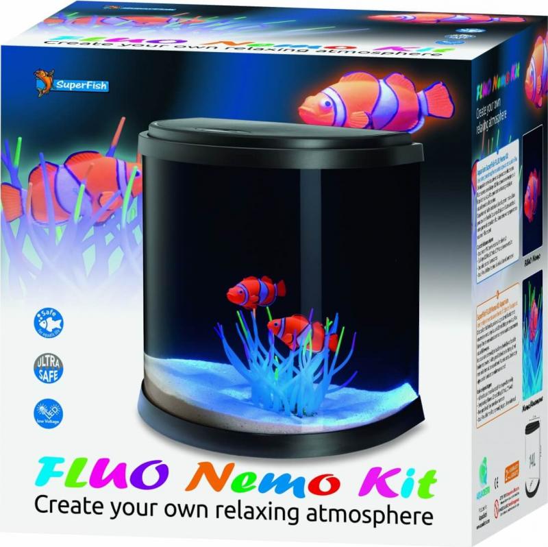 SuperFish Aquarium FLUO NEMO KIT