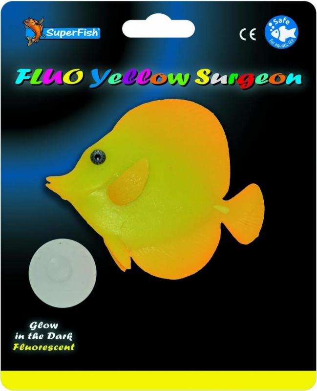 SuperFish FLUORESCENTE Decoración - Fluorescente Peces Marinos 3 modelos