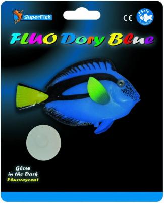 SuperFish FLUO Décoration - Fluo Poissons Marins 3 modèles