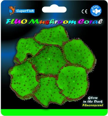 SuperFish FLUO Décoration - Fluo Coraux-Champignons 3 modèles