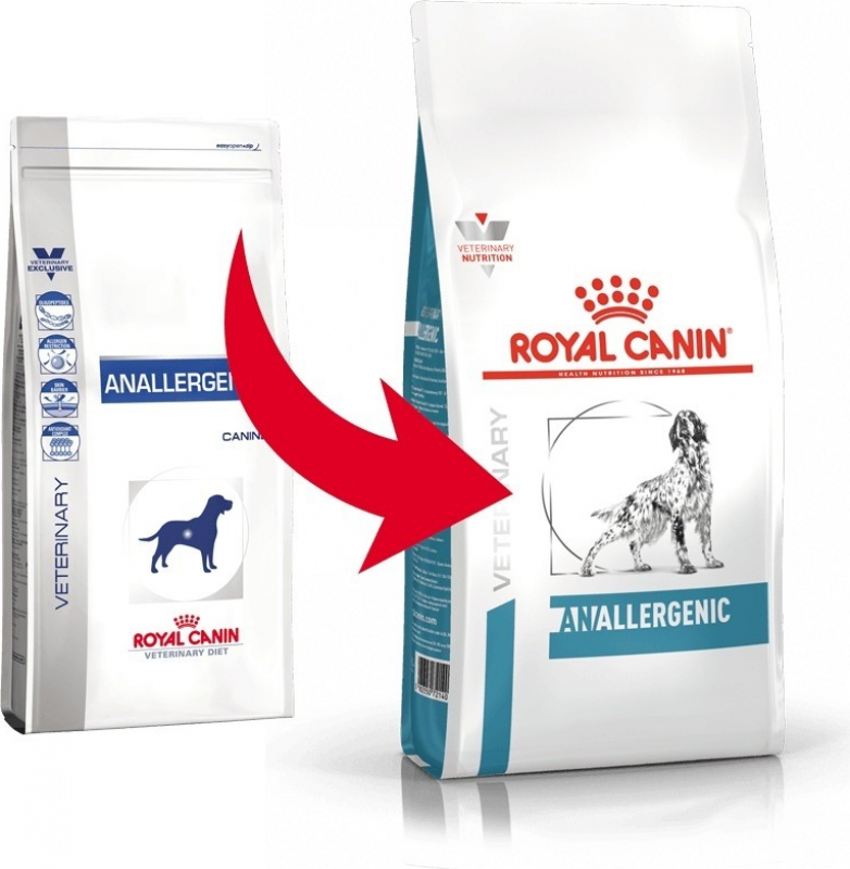 Royal Canin Veterinary Diet Anallergenic AN18 pour chien