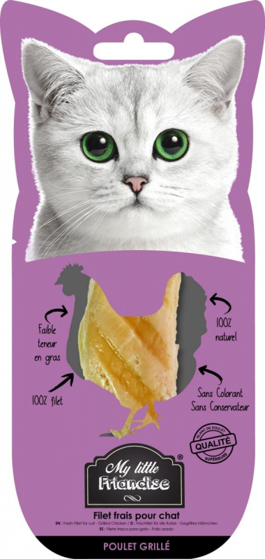 Friandise naturelle My Little au Poulet grillé pour chat