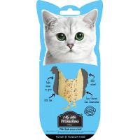 Friandise naturelle Poulet et poisson fumé pour chat My Little Friandise