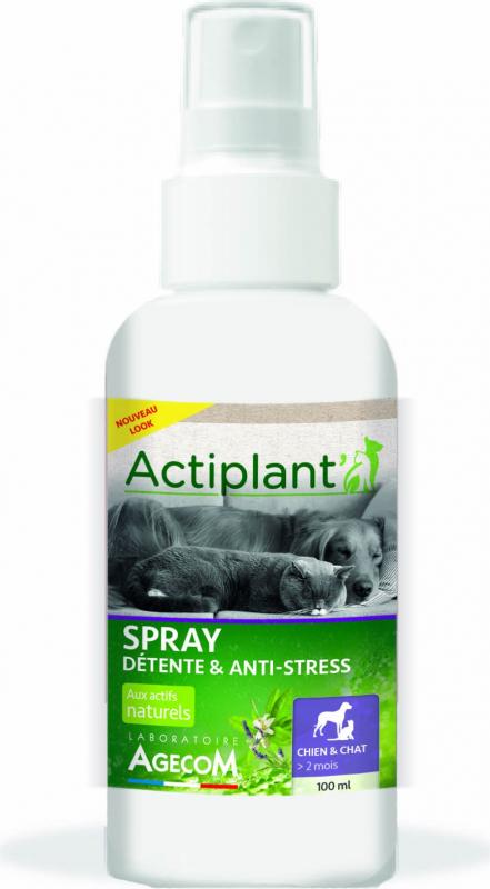 ACTI Spray Détente et Anti-Stress pour chat et chien