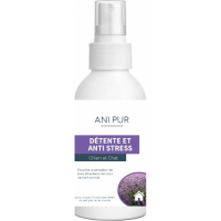 Spray Anipur Détente et Anti-Stress pour chat et chien