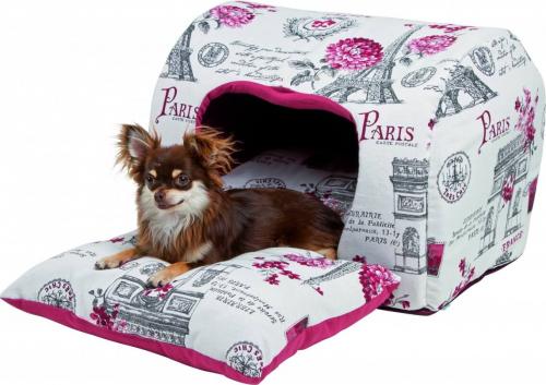igloo paris pour chat et petit chien couchage pour chat. Black Bedroom Furniture Sets. Home Design Ideas