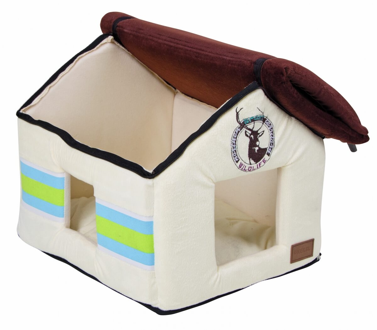 Igloo moelleux wild life pour chien et chat couchage chat for Izigloo avis
