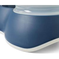 Distributeur d'eau Loop Bleu pour chien et chat
