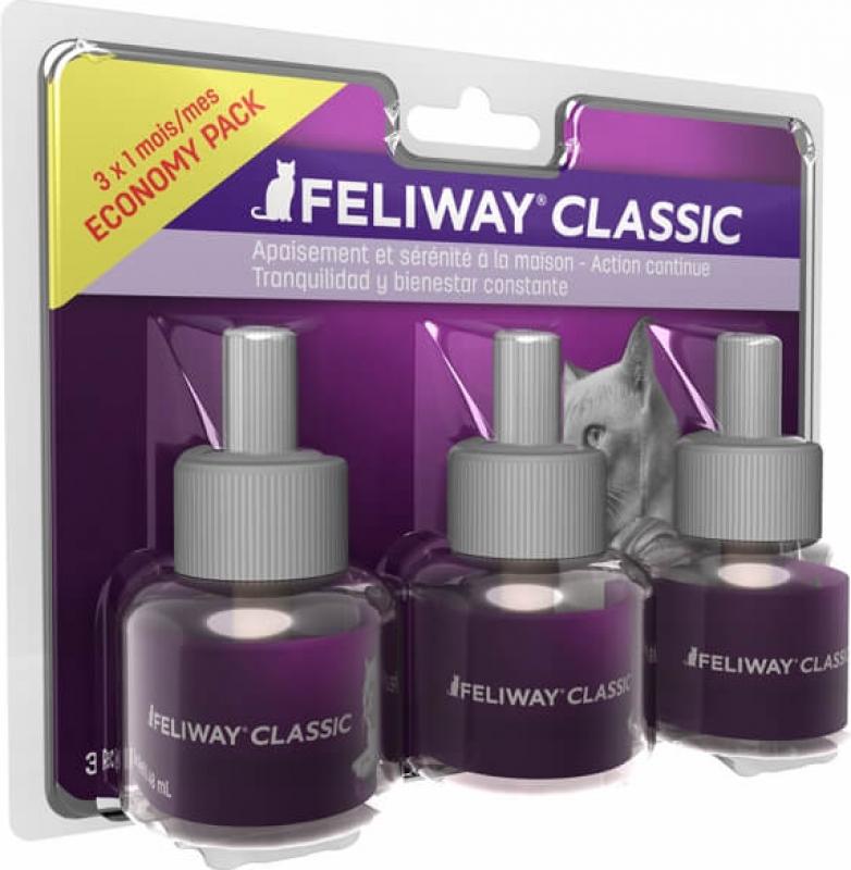 Feliway Pack de 3 recharges diffuseur Feliway Classic