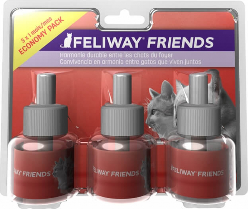 Feliway Friends Pack de 3 recharges pour diffuseur