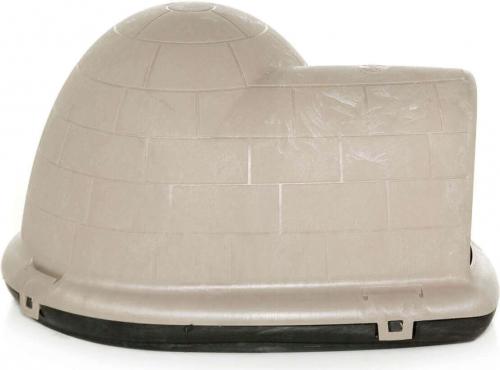 hundeh tte aus plastik f r gro e hunde indigo w microban hundeh tten. Black Bedroom Furniture Sets. Home Design Ideas