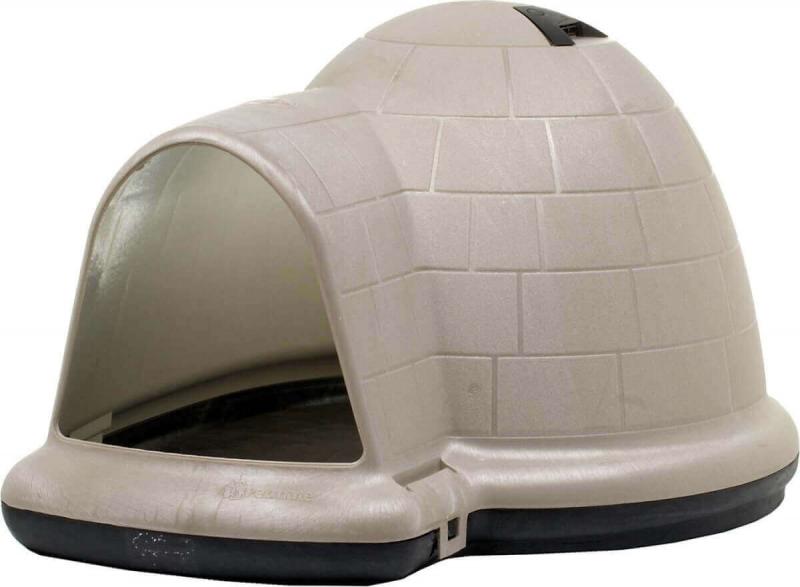 hundeh tte aus plastik f r gro e hunde indigo w microban. Black Bedroom Furniture Sets. Home Design Ideas