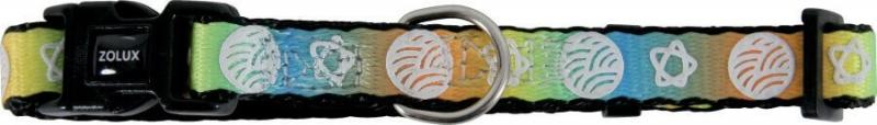 Collier nylon Nova orange - plusieurs tailles