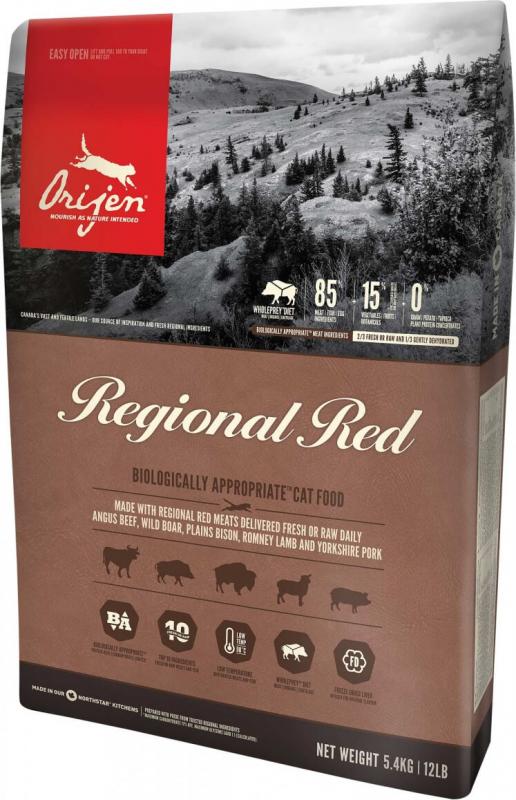 ORIJEN Regional Red Sans Céréales pour Chat