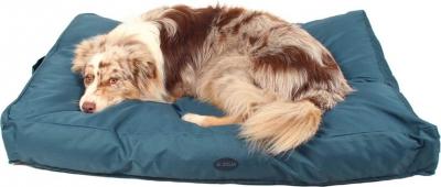 Grand coussin d'extérieur pour chien ZOLIA Flopy Bleu Marine - 110cm