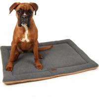 Tapis polaire gris pour grand chien Zolia Oxo - 100cm