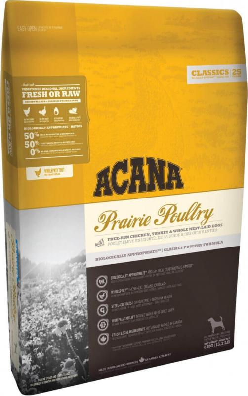 ACANA CLASSICS Prairie Poultry pour chien et chiot