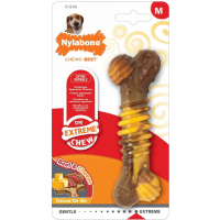 Nylabone Extreme Chew Texture Bone : Goût Steak et Fromage