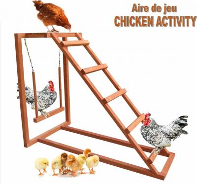 Aire de jeu Chicken Activity pour poules