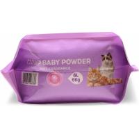 Cat litter Clump Babypowder Bentonite agglomérante - 6L et 12L